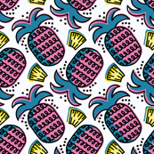 Pink Pineapple Tidbits Loops