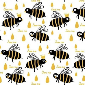 Save the Reign of the Honey Bee