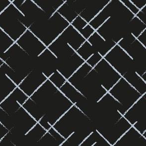 Textured stripes black blue