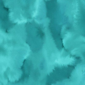Watercolor teal texture