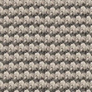 Neutral knit pattern