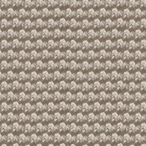 Smaller Neutral knit pattern