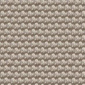 Smaller Neutral knit pattern