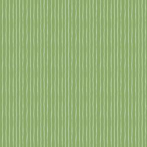 Hand Drawn Teal Green Stripe