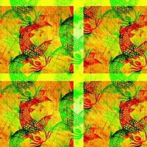 Koi holga green tile