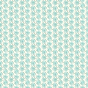 Ditsy Teal Floral