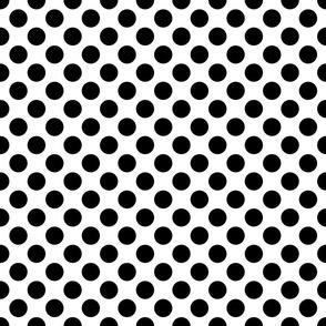 BW Polka Dots