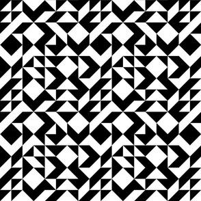 BW Diamonds and Squares
