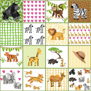 Wild Safari Quilt