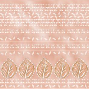 Indian leaf print