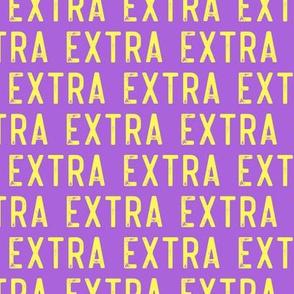 EXTRA - yellow on purple - LAD19