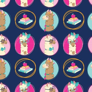 Back to School Llamas