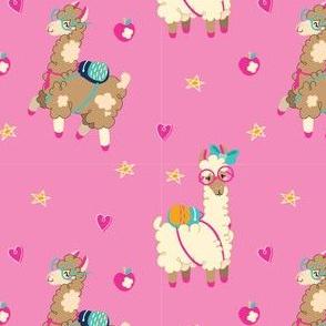Llama Doodles