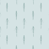 Neutral pattern with trees
