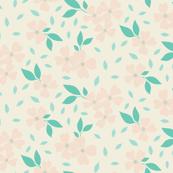 Dogwood Floral, Pastel