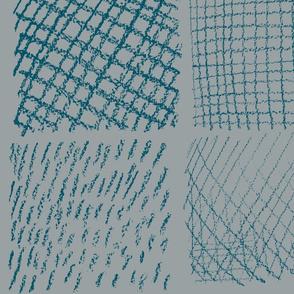 pencil lines grey