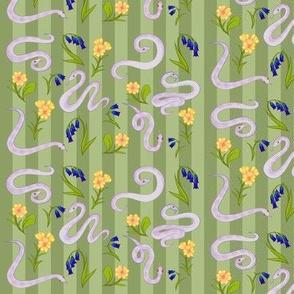 Garden Snakes (Green)