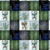 Christmas boho deer