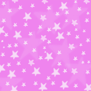 stars with pink background