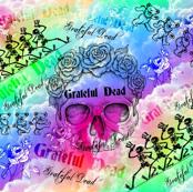 Grateful Dead Rainbow Clouds