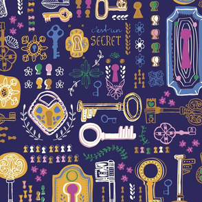Locks and Keys - wallpaper