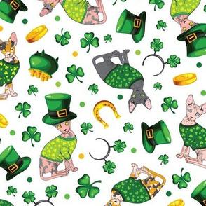 St Patricks Day Sphynx