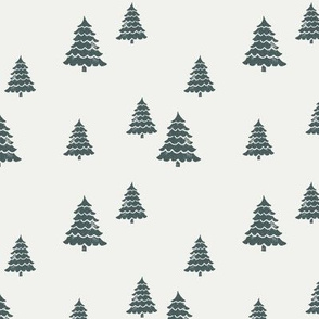 fir spruce snow - sfx5914, fir tree, christmas tree, xmas tree, winter tree, spruce green, holiday fabrics