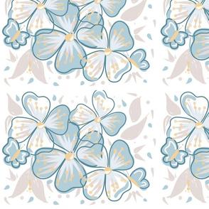 Calming florals