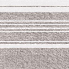 Pathway - Textured Stripe Flax Jumbo Scale