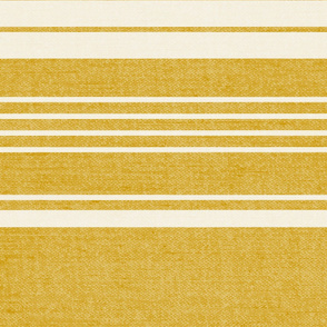 Pathway - Textured Stripe Goldenrod Yellow Jumbo Scale