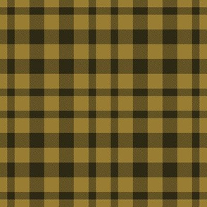Wake Forest Plaid Gold Black Team School Colors