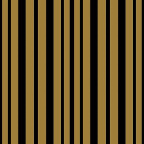 Wake Forest Stripes Gold Black Team School Colors