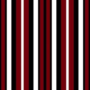Gamecocks Garnet  Stripes Red White Black Team School Colors