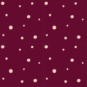 purple plum speckle pattern
