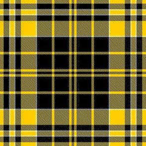 Iowa Hawkeyes Yellow Black Plaid  School Team Colors