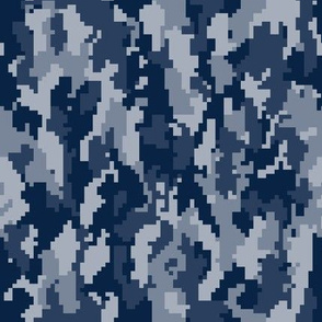 Digital Camouflage - Navy Camouflage -(90) LAD19BS