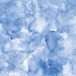 Watercolor solid blue