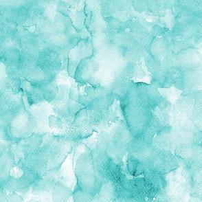 Watercolor solid mint, mono colour