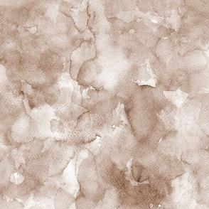 Watercolor solid brown, mono colour