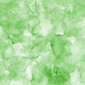 Watercolor solid green, mono colour, uni