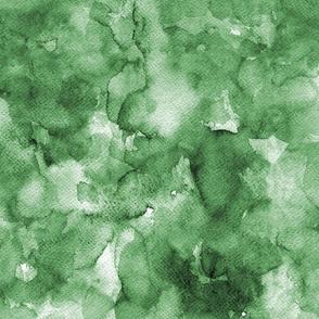 Watercolor solid green, dark green, forest green, mono colour, uni