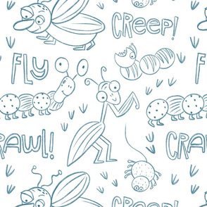 Fly Creep Crawl