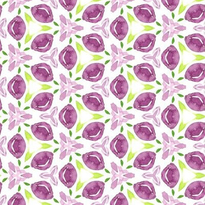 19-11s Purple Watercolor Floral repeat