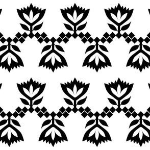 Black-White-lotus-small-pattern