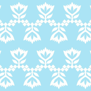 Blue-White-lotus-small-pattern