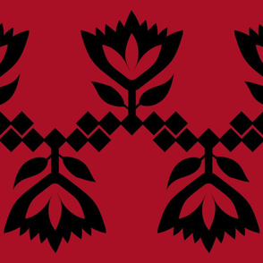 Red-Black-Lotus-big-pattern