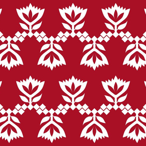 Red-White-lotus-small-pattern