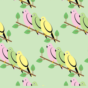 Parakeet Bird_pattern