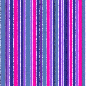 Striped Purple Blue Pink - vertical