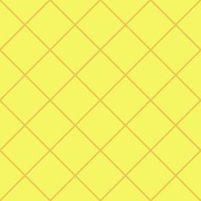 Fresh Pineapple Plaid